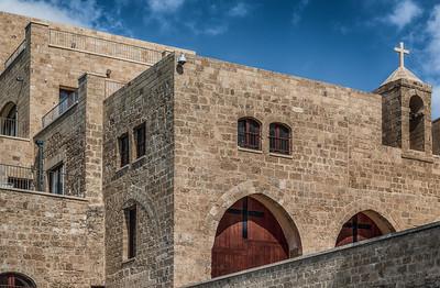 Church in Old Jaffa