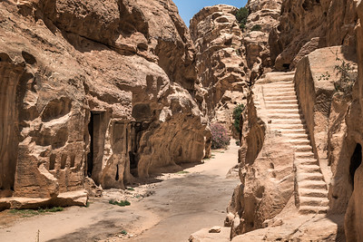 The Siq of Little Petra