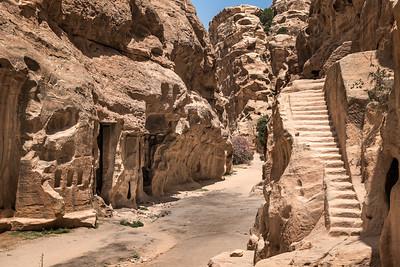 The Siq of Little Petra