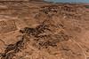 View of the desert floor near Masada