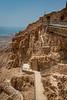 Stairs at the Fortress of Masada