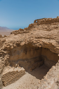 Ruins at the summit of Masada