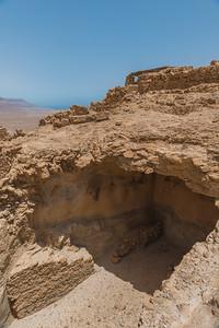 Ruins at the summit of Masada