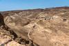 View of the Roman attack ramp at Masada