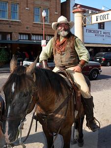Fort Worth - Happy Cowboy