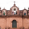 The Cathedral's Renaissance facade , Cuzco, Peru