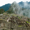 Bird's-eye view of the Royal Sector, Machu Picchu, Peru