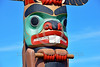 TotPol 00403 A well carved, excellent condition, beaver inspired totem pole detail picture by Peter J  Mancus
