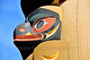 TotPol 00256 A well carved, excellent condition, animal inspired totem pole detail picture by Peter J  Mancus