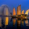 Sheraton Huzhou, china, huzhou, Lake Tai, junk,