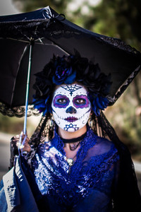 Dia de Los Muertos at Hollywood forever cemetary in Los Angeles