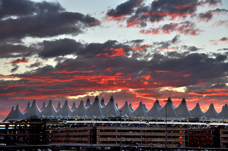 199 - Sunset, DIA, Denver, CO