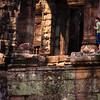 """Curiosity""<br /> <br /> Bayon, Angkor."