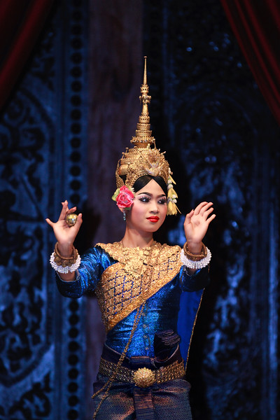 Apsara dancer, Siem Reap.