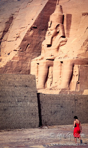 Temple of Ramesses, Abu Simbel.