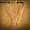 """Eternal Love""<br /> <br /> Bas relief at Karnak temple, Luxor."