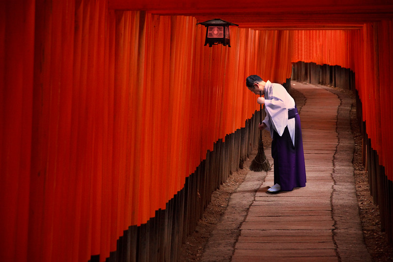 Fushimi Inari, Kyoto.