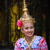 Traditional Thai dancer, Erawan shrine, Bangkok.