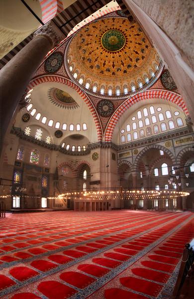 Süleymaniye mosque, Istanbul.