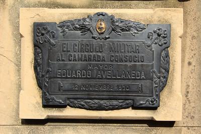 La Recoleta Cemetery (Cementerio de la Recoleta), located in the Recoleta neighbourhood of Buenos Aires. It contains the graves of notable people, including Eva Perón, Raúl Alfonsín, and several presidents of Argentina.)
