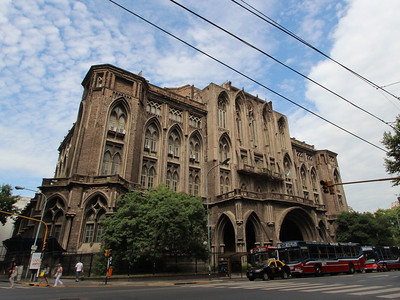 A 'Gothic' building in Buenos Aires