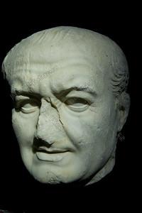 Gladiatoren,portret, Vespasianus 69-100 AC