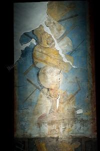 Gladiatoren,wallpainting,muurschildering,murailles,wapens,armes,Pompeï, 1-79 AC