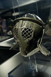 Gladiatoren,Provocator helmet,helm vanProvocateur,casque d'un Provocator,exposition,tentoonstelling,exposition