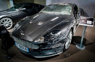 opening Bond in motion exposition,Aston Martin DBS,Beaulieu,Great Britain,Groot-Brittannië,Grande Bretagne