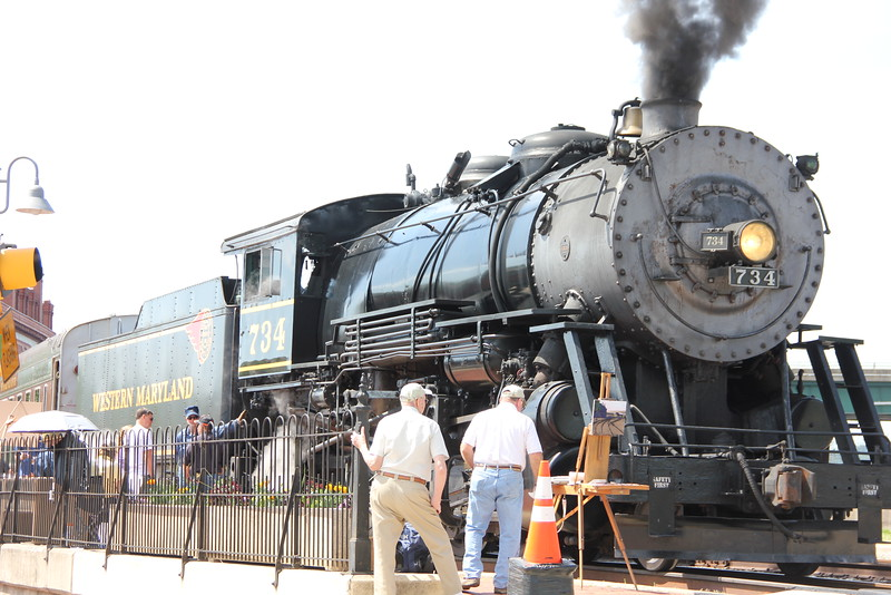This is Mountain Thunder, the WM steam locomotive