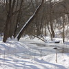 We do get real snow in Western Maryland.  The most I have experienced is 48 inches.  This is Evitts Creek near the Cumberland Country Club.