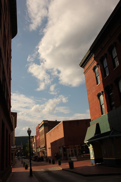 Buildings in downtown Cumberland.