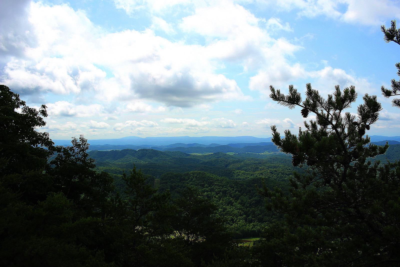 View from Little War Gap Tower Site