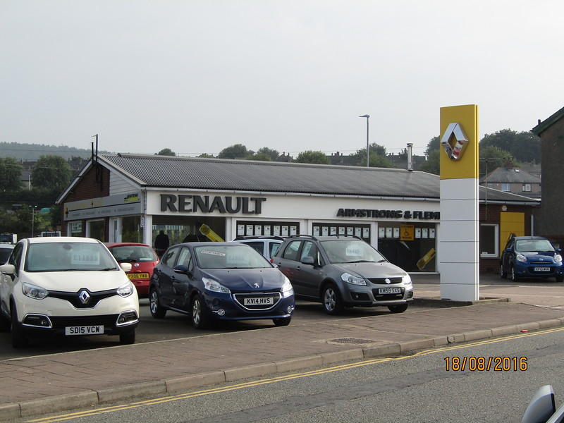 Also a Nissan and Vauxhall service centre