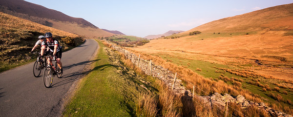 Cycling in the Newlands Valley