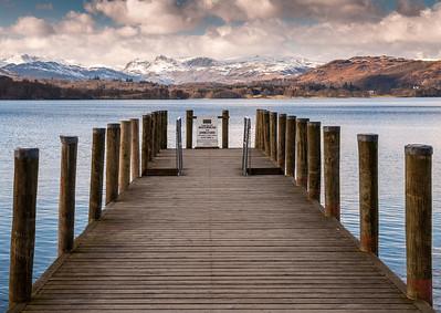 Brockhole Pier on Lake Windermere