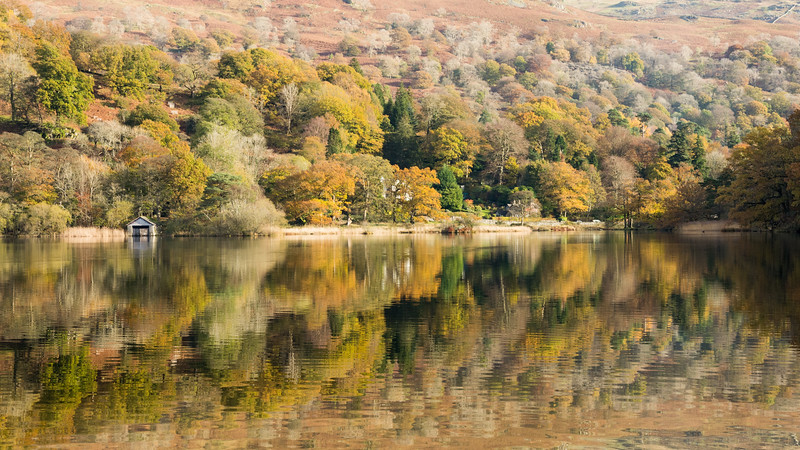 Autumn at #RydalWater in the #LakeDistrict
