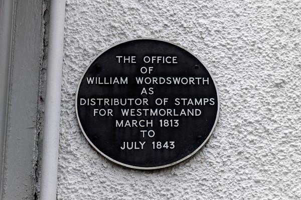 William Wordsworth Plaque