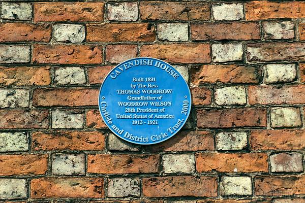 Cavendish House Blue Plaque