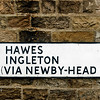 Sign to Hawes And Ingleton