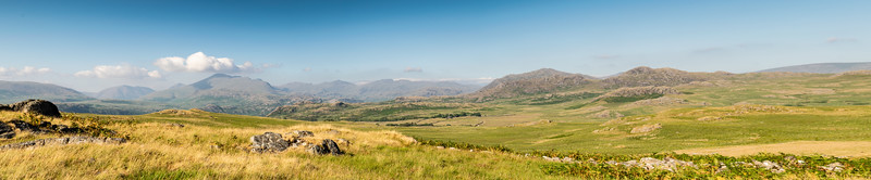 Lake District Panorama.  from Devoke Water