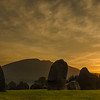 Sunrise at Castlerigg and Blencathra