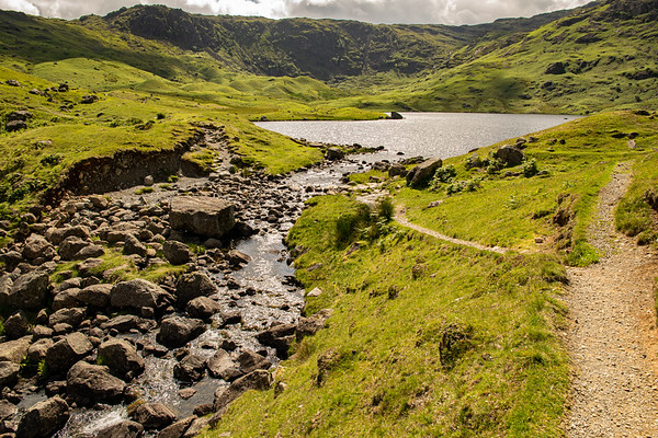 Easdale Tarn and Slapestone Edge