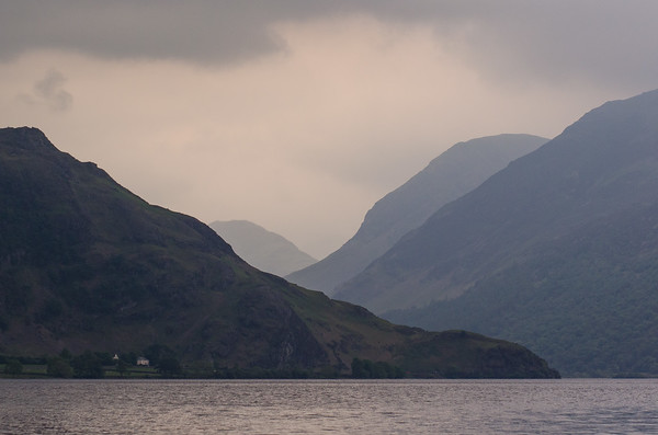 Rannerdale Knotts beside Crummock Water, with High Crag and Haystacks towering over Buttermere.