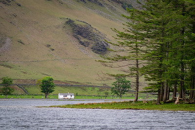 The Bothy. South shore below Fleetwith