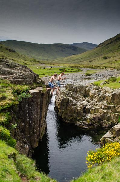 A Cold Dip!