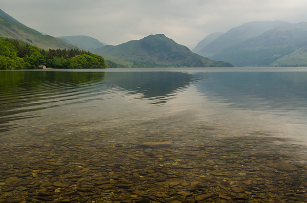 Crummock Water with High Stile, High Crag and Haystacks beyond.