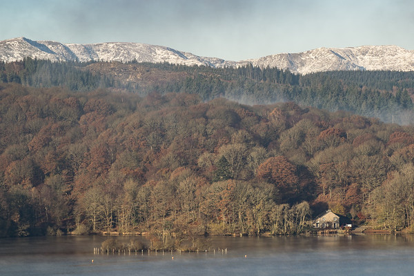 Taken from the Beech Hill Hotel on the east shore of Lake Windermere