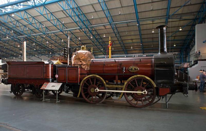 Furness Railway No 3 'Coppernob', National Railway Museum, York, 17 July 2016.