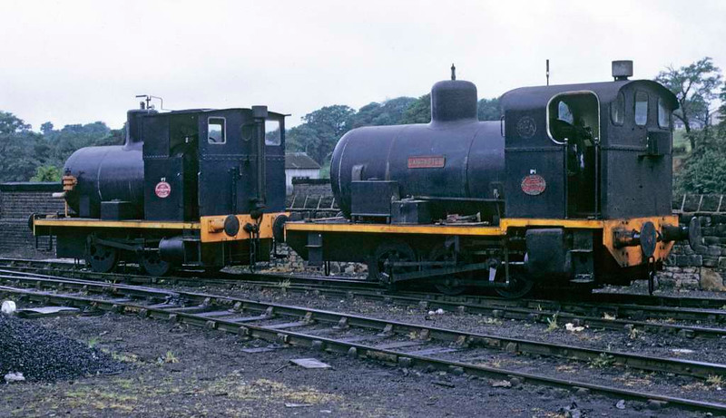 No 2 & No 1 Lancaster, Lancaster power station, 9 June 1973. Photo by Les Tindall.